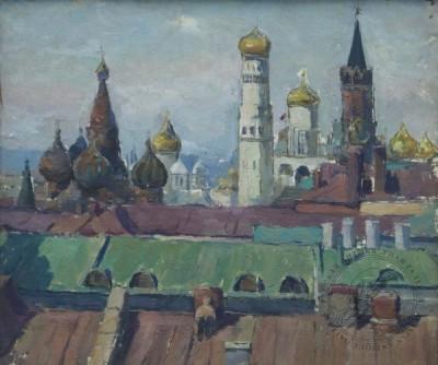 Картина «Москва. Кремль»