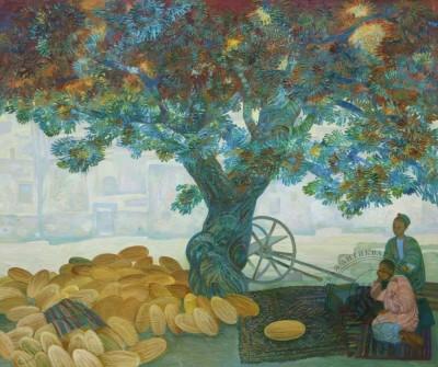Картина «Под старым деревом»