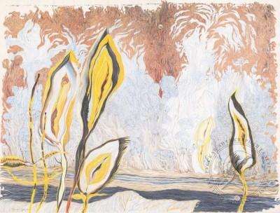 Рисунок «Осенние травы»