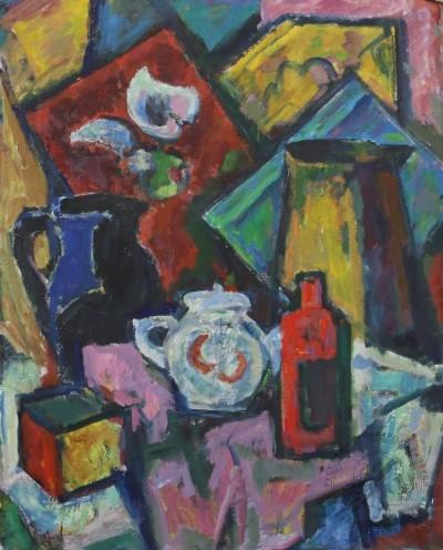 Картина «Натюрморт с чайником»