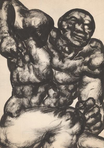 Рисунок «Мужская фигура»
