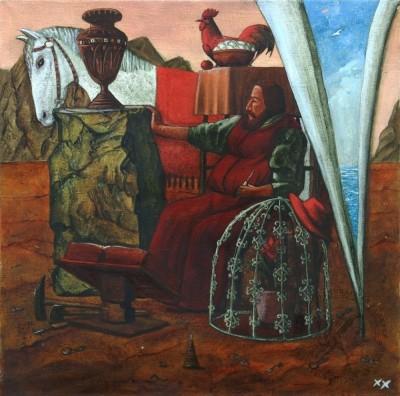 Картина «Мыслитель»