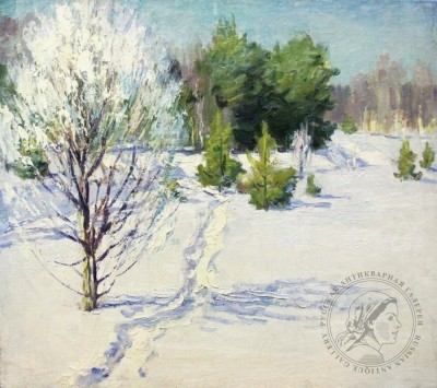 Картина «Зимний день в Комарово»