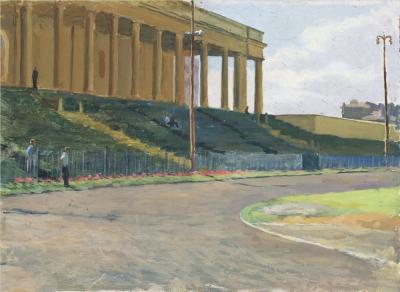Картина «Стадион Юных пионеров»
