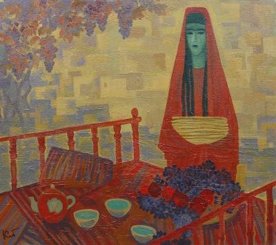 Картина «Зеленый чай»