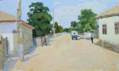 Картина «Улица в Молдавии»
