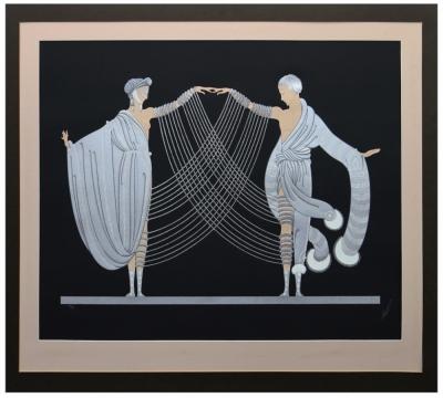 Сериграфия «Свадебный танец». Из серии «Сюита любви и страсти»