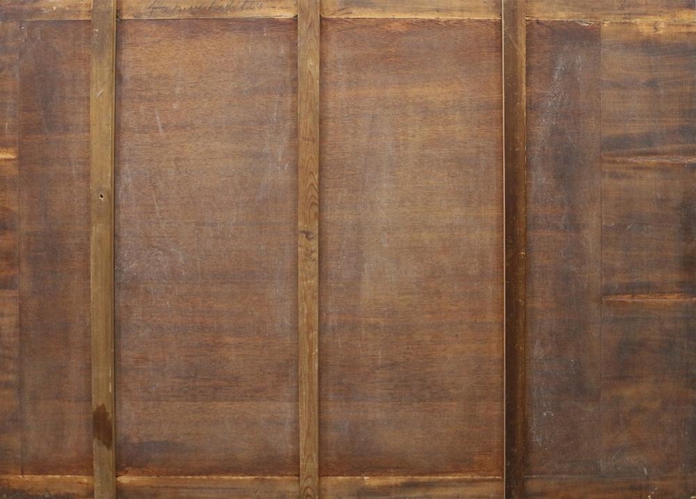 Антикварная картина «Чтение Священного Писания»