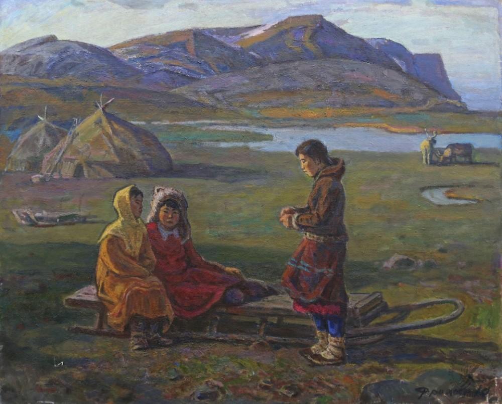 Картина «К вечеру»