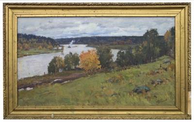Пейзаж «Карелия. Река Свирь»