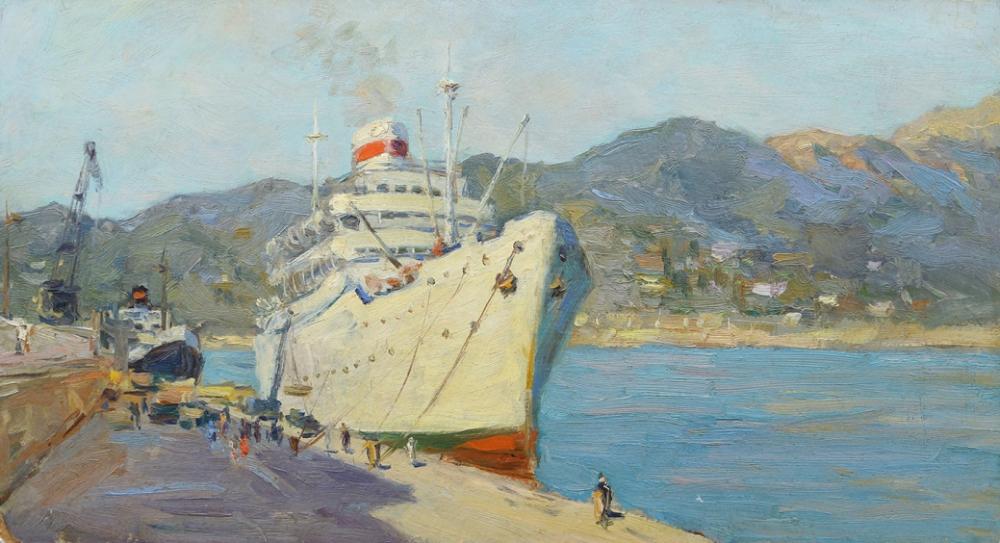 Этюд «В порту»