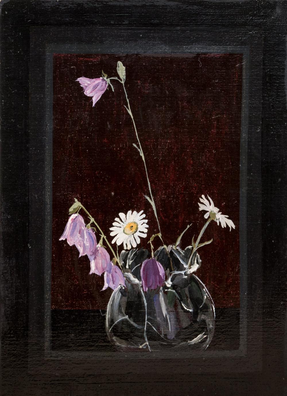 Картина «Ромашки и колокольчики»