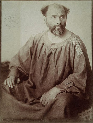 Фотография Густава Климта (1862 – 1918)