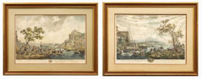 Парные офорты по картинам Филипса Вауэрмана