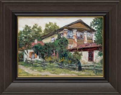 Картина «Домик в Киеве где бывал П.И. Чайковский»