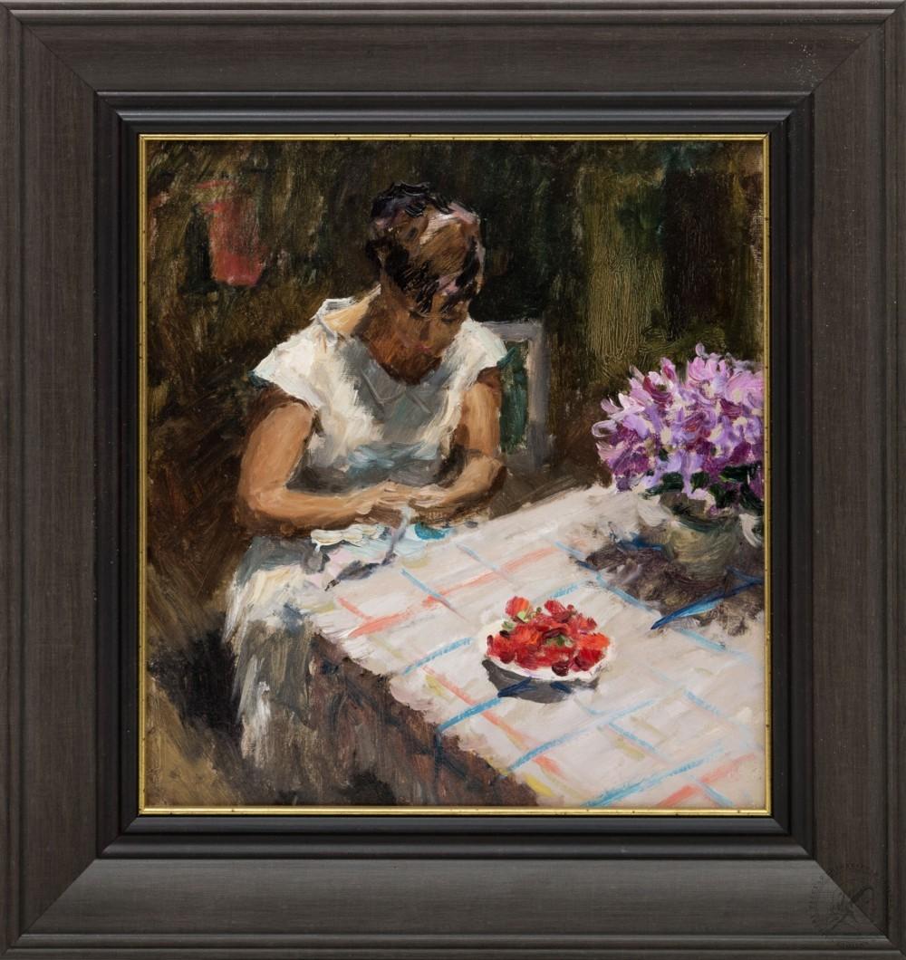 Картина «В саду»
