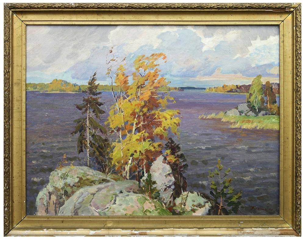 Пейзаж «Осень в Карелии»