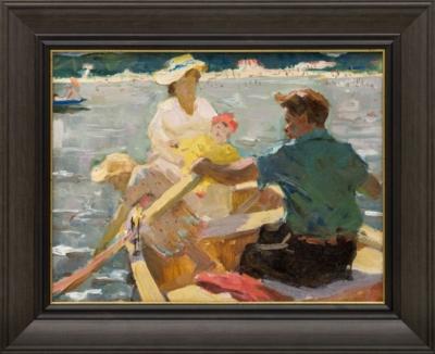 Картина «Прогулка на лодке»