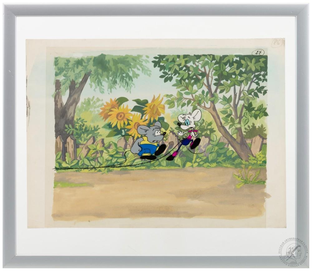 Фаза из мультфильма «Приключения кота Леопольда»