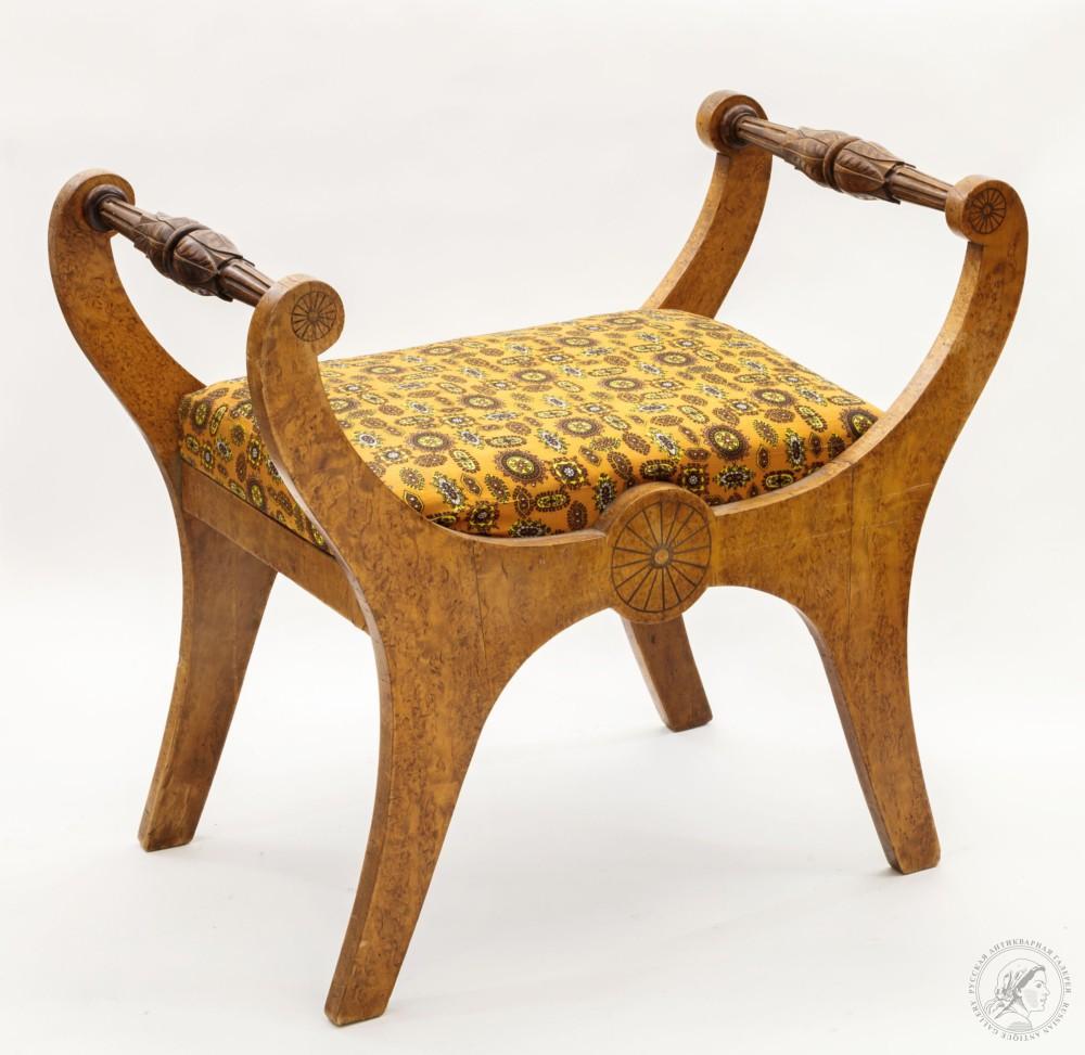 Старинная мебель - карельская берёза