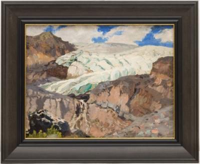 Картина «На склоне Эльбруса»