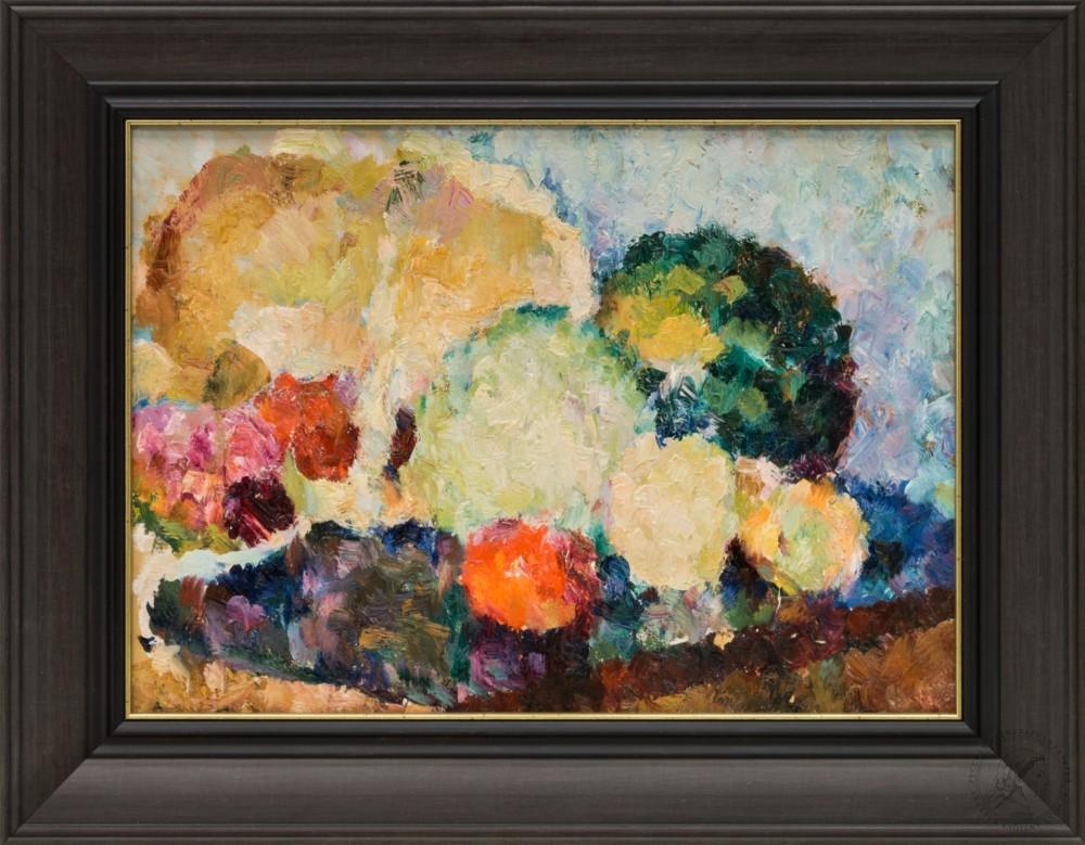 Картина «Натюрморт с капустой»