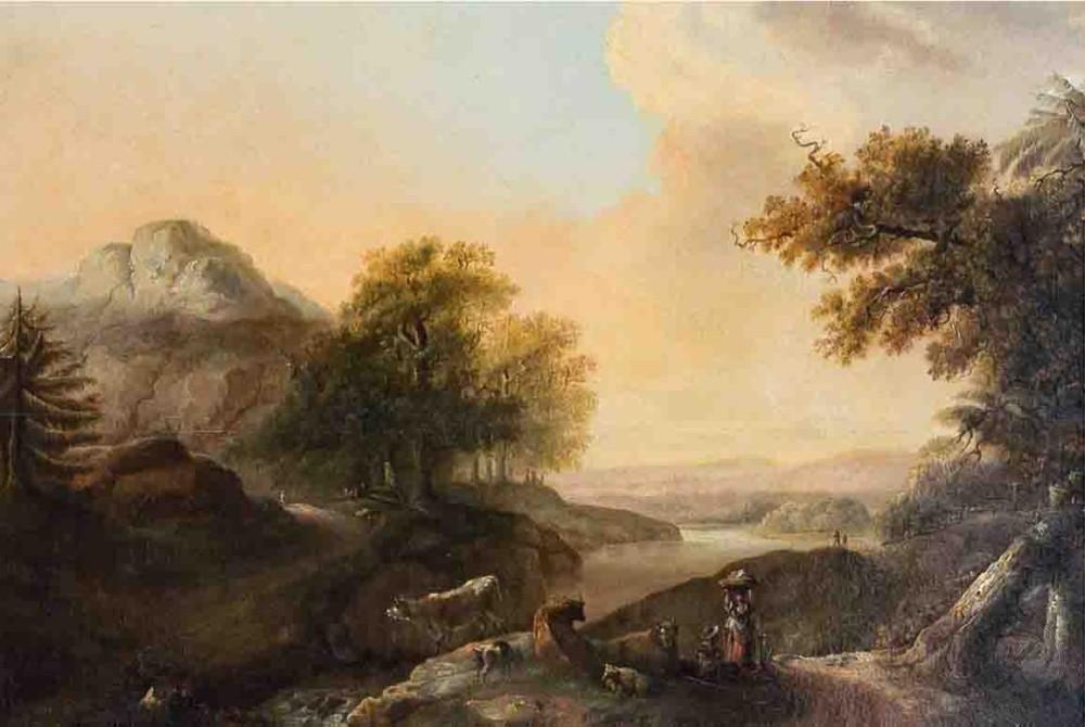 История пейзажа
