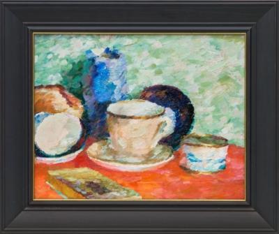 Картина «Натюрморт с чайной парой»
