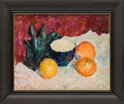 Картина «Натюрморт с апельсинами»