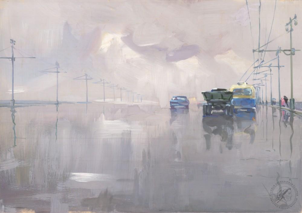 Рисунок «Дождь»