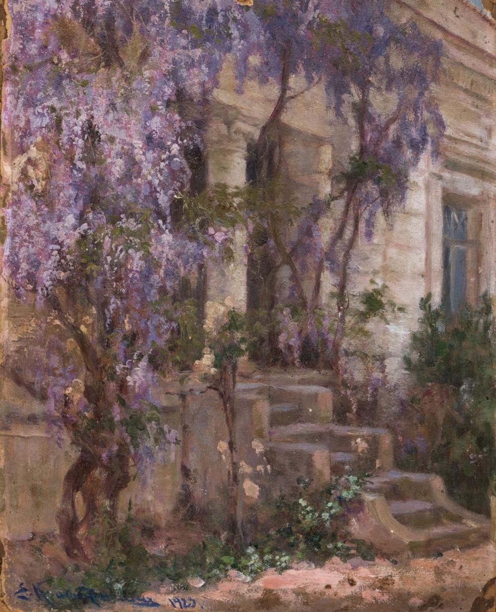 Картина «Глицинии в Ялте»