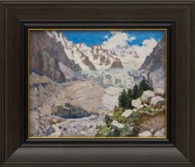 Картина «Кавказ. Цейский ледник»