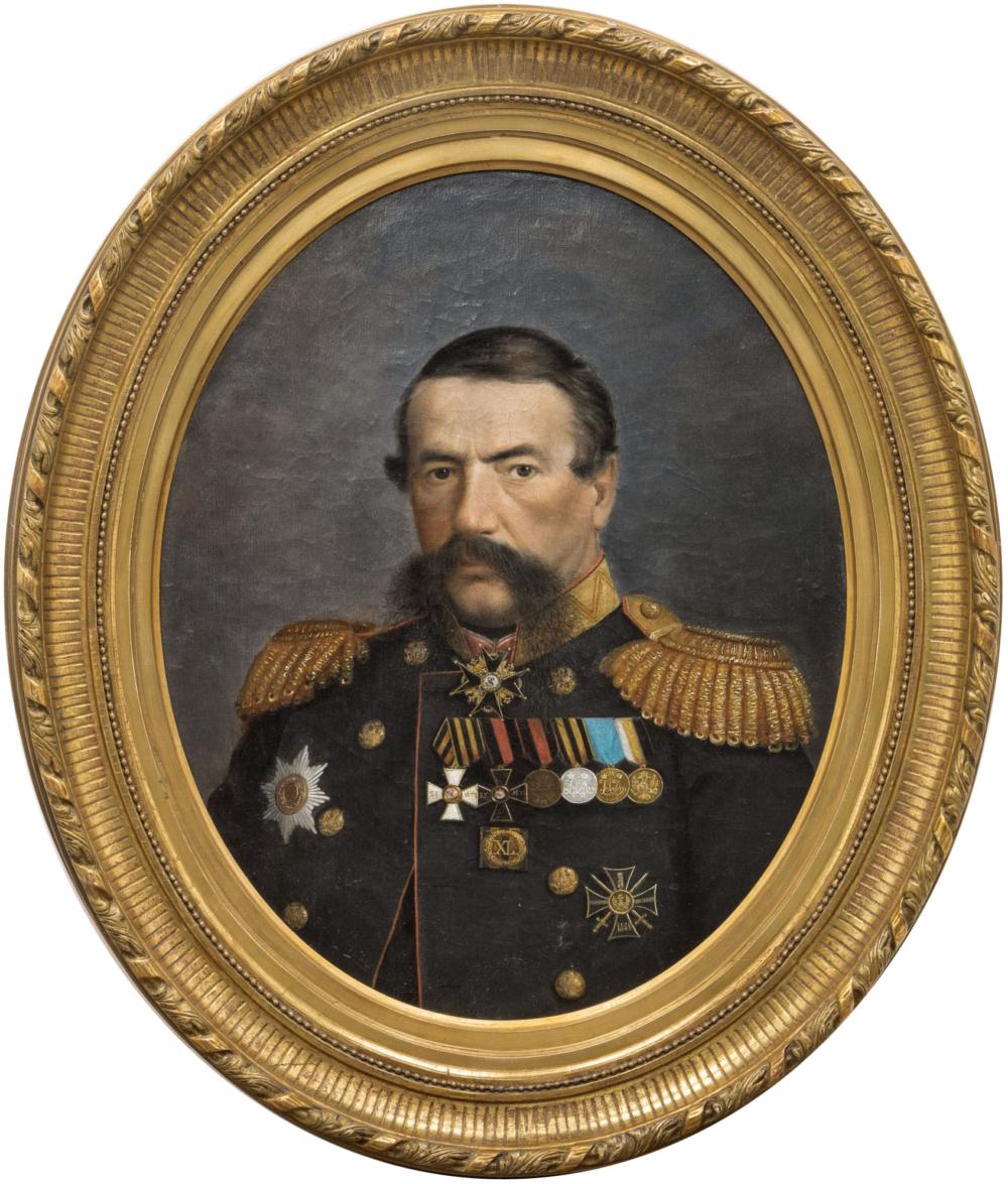 Картина «Портрет генерал-лейтенанта А.С. Ковалевского»