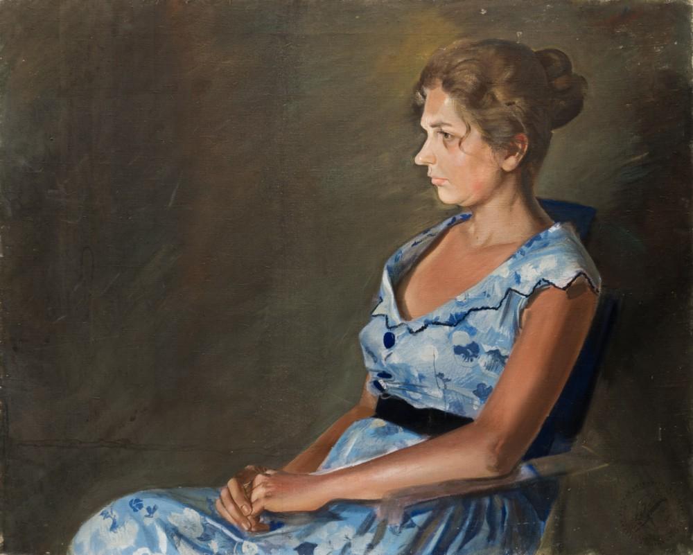 Картина «Портрет пианистки»