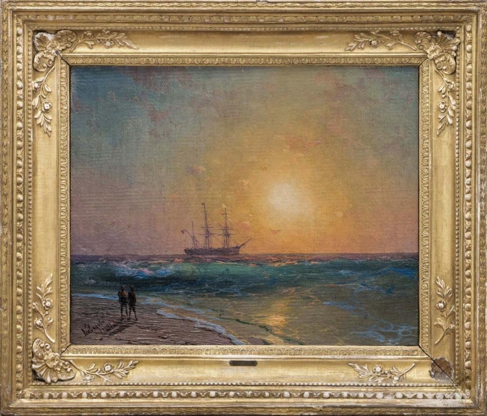 Купить коллекционные картины - картина с морем