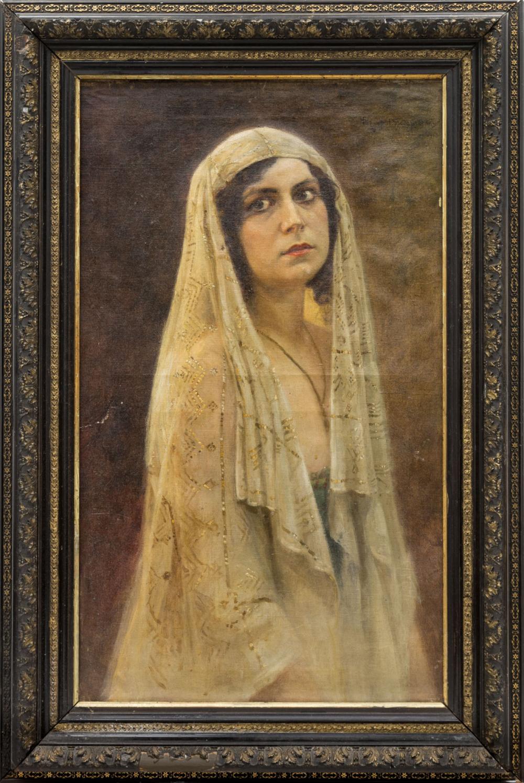 Портрет в образе Суламифи (предположительно, Айседора Дункан)