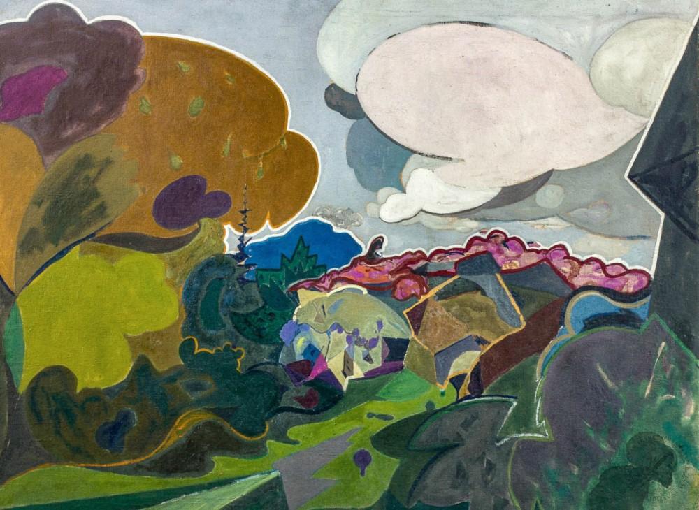 Модернизм и абстрактные пейзажи
