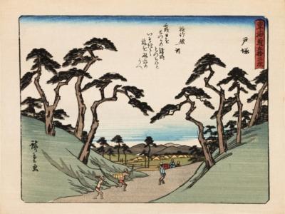 Ксилография «Тоцука»