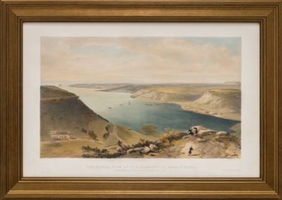 Литография «Вид на Северную сторону Севастопольской гавани»