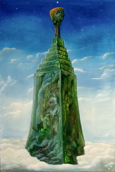 Картина «Мировая гора»