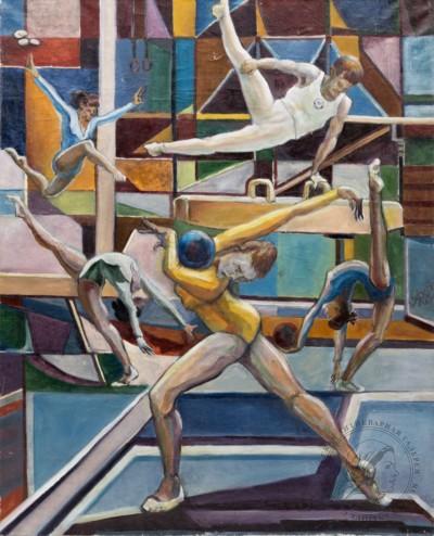 Картина «Ритмы, пластика, гимнастика»