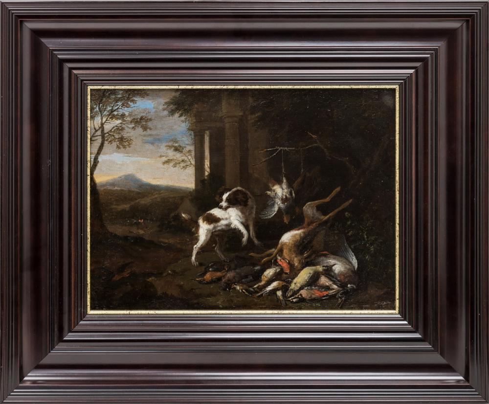 Картина «Охотничья сценка»