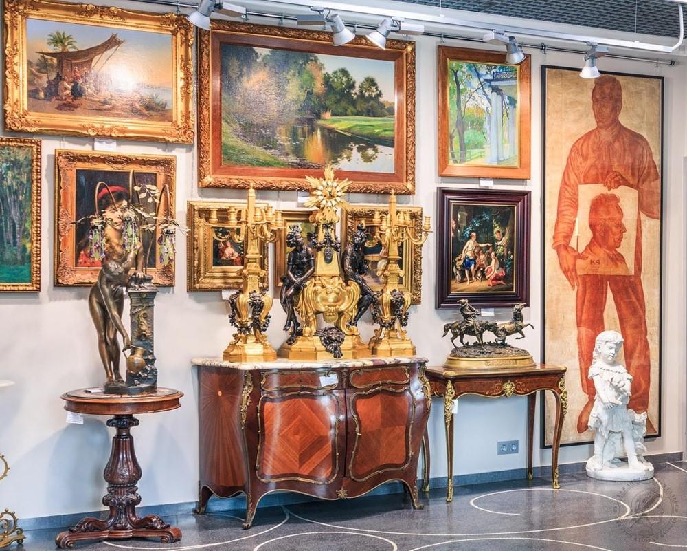 Антикварный Москва, особенности покупки предметов искусства