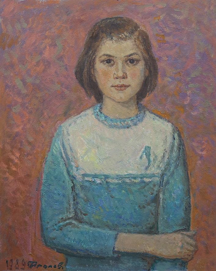 Картина«Портрет Анюты»