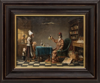 Картина «Аптекарь»
