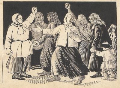 Бабий бунт Литко