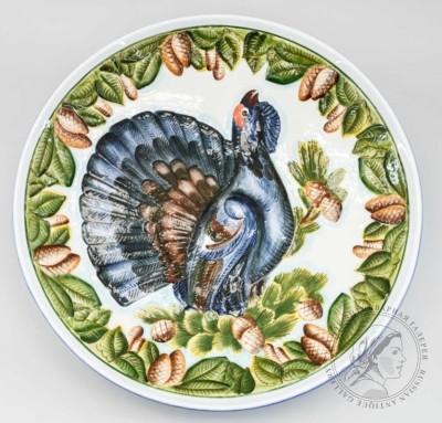Блюдо декоративное «Глухарь»
