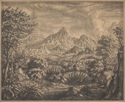 Богаевский Горный пейзаж