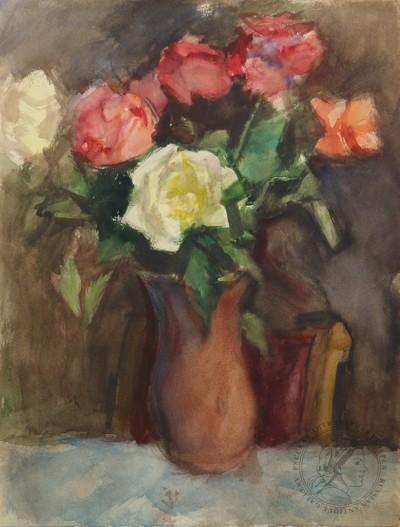 Натюрморт «Букет роз»
