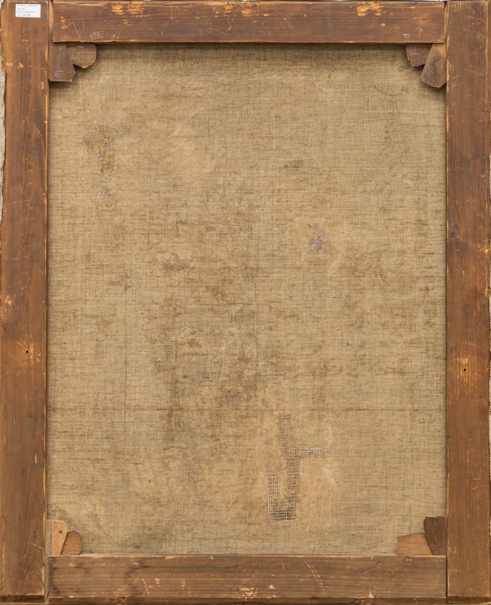 Картина «Букет сирени в корзине»